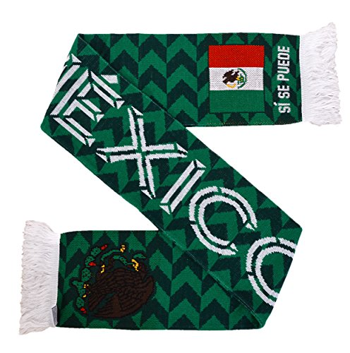 Mexico Scarf - Mexico Tile Soccer Knit Scarf