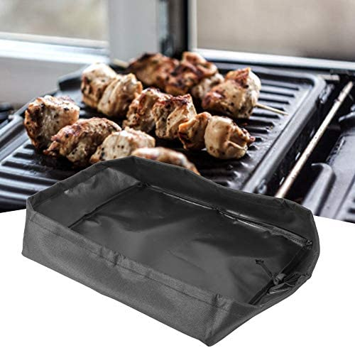 Housse de gril de barbecue Housse de four de gril électrique Appareils ménagers Housse de protection pour barbecue 32.5x27.5x7cm