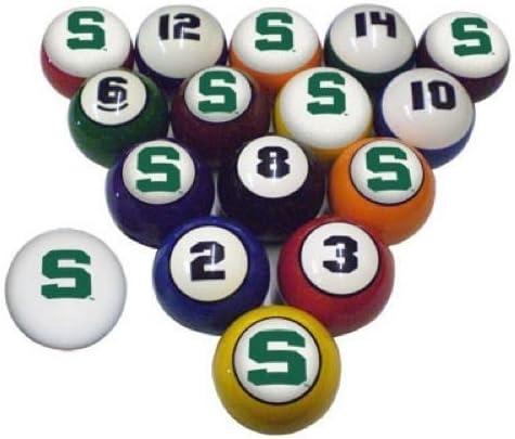 Msu Michigan State Spartans NCAA Collegiate billar bolas de billar ...