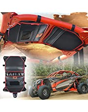 Maverick X3 Accessories, Goldfire Water Resistant X3 Overhead Storage Bag Roof Organize Fits for Maverick X3 2017+ (Red Piping)