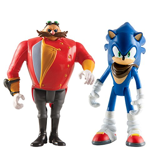 Sonic Boom Small Figure 2 Pack, Sonic And Eggman