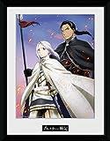 Heroic Legend of Arslan Framed Poster Embers 45 x 34 cm Posters Wallscrolls
