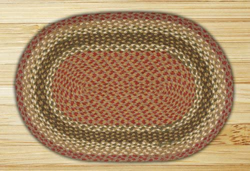 Earth Rugs Oval Area Rug