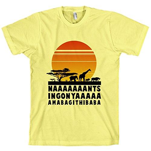 HUMAN Circle of Life Lemon Medium T-Shirt