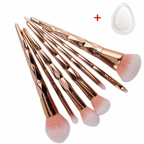 6/7/10Pcs Makeup Brushes Tools Set Eyeshadow Powder Foundati