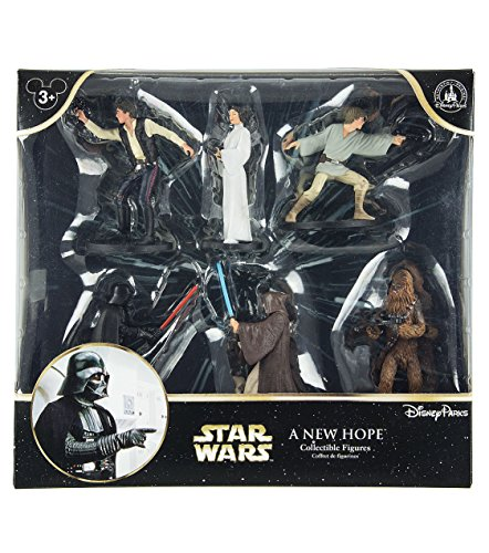 Free Disney Parks Exclusive Star Wars Epidode IV A New Hope Playset Collectible Figurines Figures Set