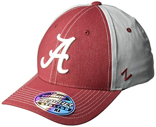 Zephyr NCAA Alabama Crimson Tide Men's Clash Waterproof Performance Cap, Medium/Large, Cardinal
