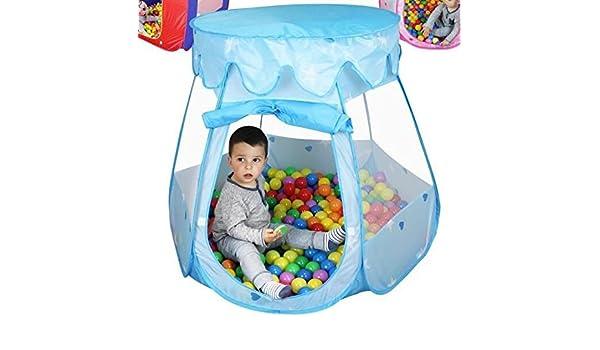 Apishop 1 Unidad Tienda de campaña Infantil para bebé Color Azul