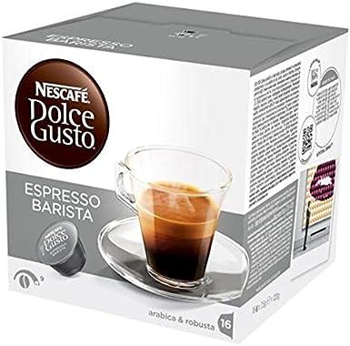 160 Cápsulas de café Nescafe Dolce Gusto Espresso Barista: Amazon ...