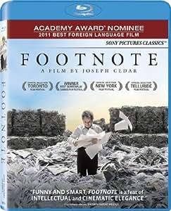 Footnote [Blu-ray] (Sous-titres français)