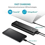 Anker PowerCore+ 20100 USB-C, Ultra-High Capacity Premium Portable Charger, 20100mAh External Battery, 6A Output Type-C… 14 The Anker Advantage: Join the 30 million+ powered by our leading technology. MacBook Compatibility: In addition to standard functionality, USB-C Compatible: Fully compatible with the new MacBook (not MacBook Pro), charging at 5V/3A. USB-C port acts as input and output. Ultra-High Capacity: Recommended by Time Magazine, the PowerCore+'s 20100mAh capacity can fully charge 1 MacBook, 1 iPhone and 1 iPad Air 2 on a single charge.