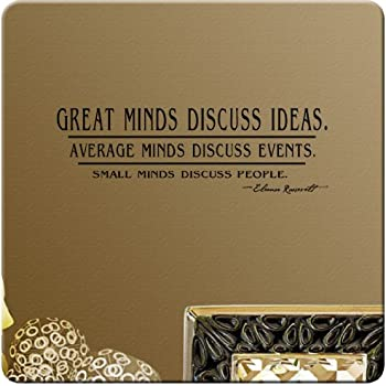 Eleanor Roosevelt Quote Better to Light Candle vinyl wall decal sticker
