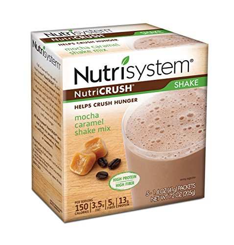 Nutrisystem  Mocha Caramel Shake Mix  20 Count Limited Time Only Promotion