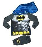 Kids Boys Fancy Dress Up Play Costumes / Pyjamas Nightwear Pj's Pjs Set Batman Party Size UK 3-4 Years