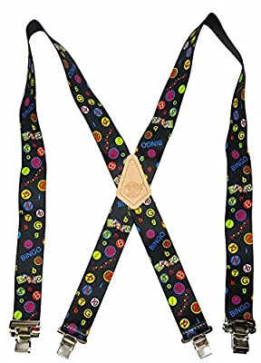 "Usa Made Custom Suspenders • 2"" Wide • Strong Metal Clips • Buy American !..."