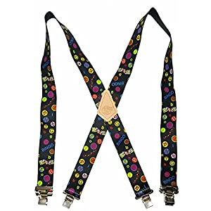 """USA MADE CUSTOM SUSPENDERS 2"""" WIDE STRONG METAL CLIPS BUY AMERICAN !…"""