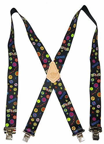 "USA MADE CUSTOM SUSPENDERS • 2"" WIDE • STRONG METAL CLIPS • BUY AMERICAN !…"