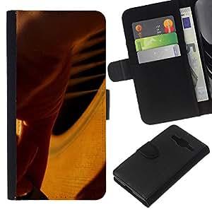JackGot ( Musica Pianoforte ) Samsung Galaxy Core Prime la tarjeta de Crédito Slots PU Funda de cuero Monedero caso cubierta de piel