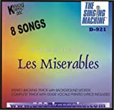 Sing the Hits Of Les Miserables Karaoke Audio CD with Lyric Sheet