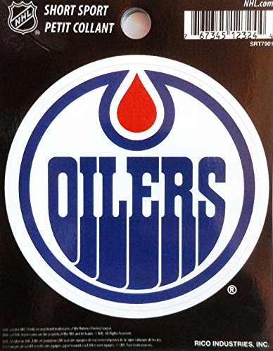NHL Edmonton Oilers Short Sport Decal