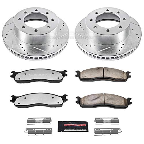 - Power Stop K2203-36 Front Z36 Truck and Tow Brake Kit