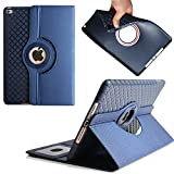 iPad Pro 9.7 inch Case,TechCode 360 Degrees Rotating Magnetic Stand Smart Screen Protective Case Cover for Apple iPad Pro 9.7 inch Tablet (iPad Pro 9.7, Blue)
