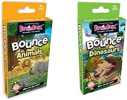 Dos veces Diversión. Brain Caja Bounce Card Games – Animales ...
