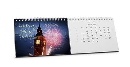 Calendario de mesa con nombre Pascal, personalizable con nombre ...