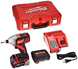 Milwaukee 2656-22CT M18 1/4″ Hex Impact Driver Kit For Sale