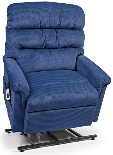 Collection Large Lift Chair - Montage Collection Large Wide UC542-ME6 Lift Chair Recliner - Royal (Curbside Delivery)