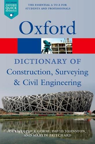 Pdf Home A Dictionary of Construction, Surveying, and Civil Engineering (Oxford Quick Reference)