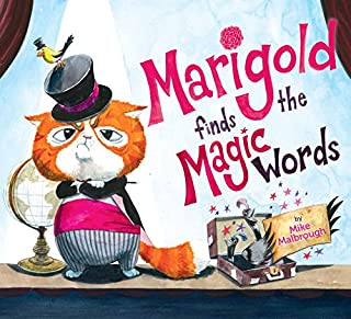 Book Cover: Marigold Finds the Magic Words