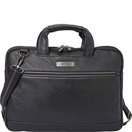 Kenneth Cole Reaction ProTec Faux Pebbled Leather Slim 16