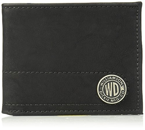 Dickies Men's RFID Blocking Bifold Wallet with Chain , -black, One Size