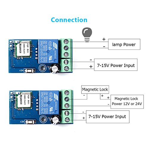 511qzpfIhdL.01_SL500_ wifi inching relay delay switch module low power smart home remote Basic Electrical Wiring Diagrams at bakdesigns.co