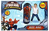 New Ultimate Spider-Man Web-Warriors Bop Bag Inflatable Toy punching bag for kids by RMS