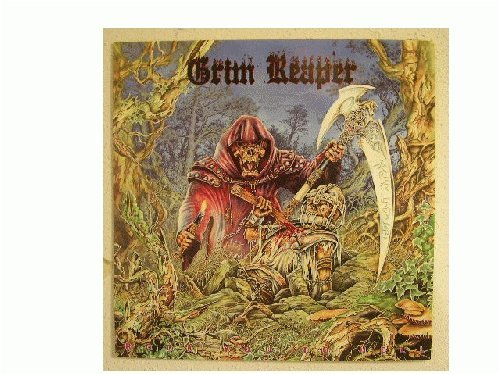 Grim Reaper Poster Rock You To Hell The