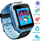 Kids Smartwatches for Boys Girls - GPS Fitness Tracker Watch for Children