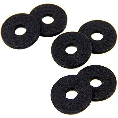 Guitar Savers Premium Strap Locks (3 Pair) - Black