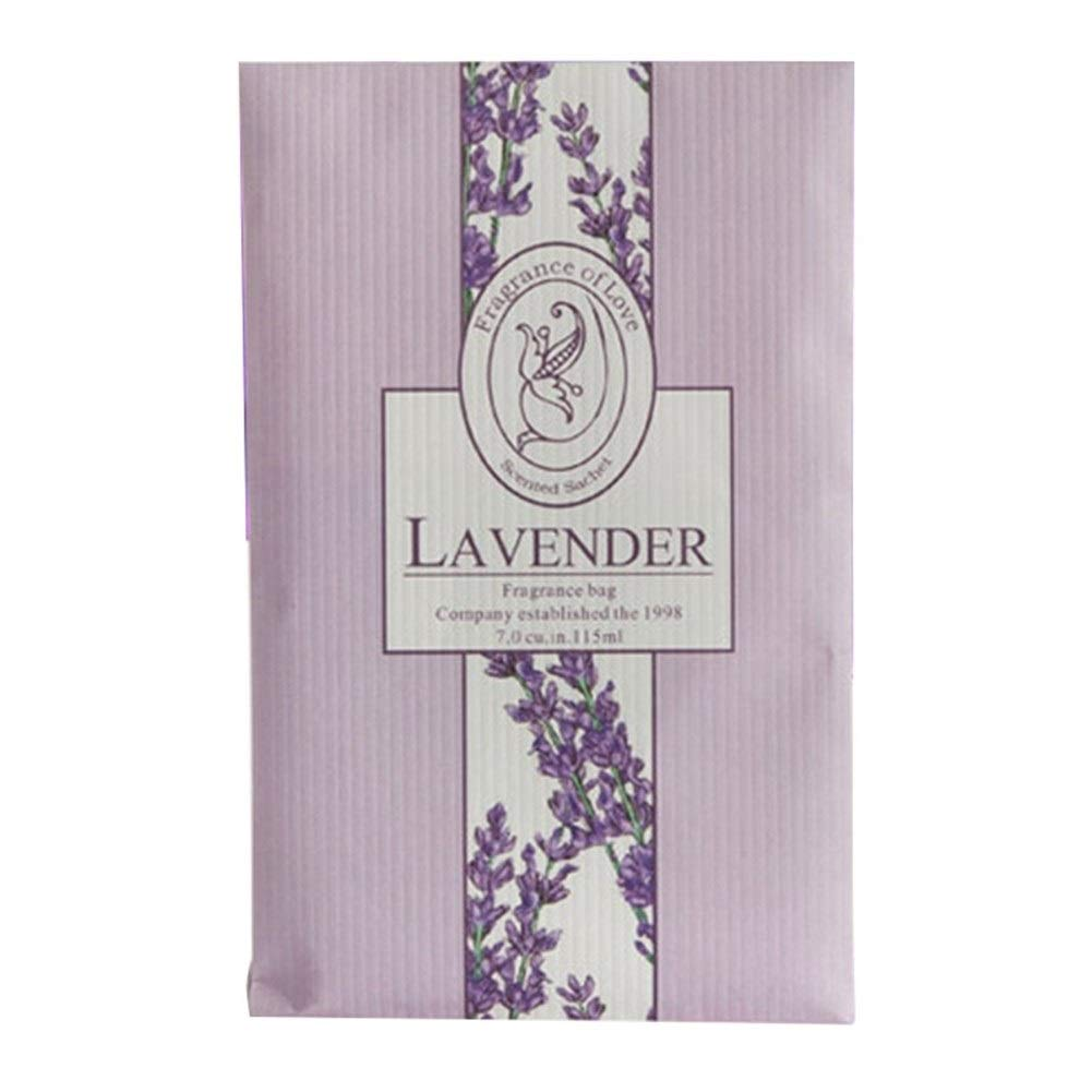 FASGION 4 PC 5 Scent Type Air Freshener Sachet Bag Home Lavender Refresher Anti-Insect & Anti-Mold Aromatherapy Bag Moth Mildew Proofing (Color : Lavender) by FASGION
