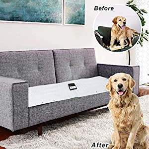 Upgraded Pet Scat Cat Mat,Pet Training Shock Mat for Kitten Cats Indoor Outdoor,Multi Pieces Adjustable Shape,Keep Cat Off Furniture Sofa Couch,Smart Safe Protection System,Anti Shedding Metal Wires 22