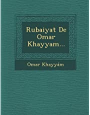 Rubaiyat De Omar Khayyam... (Spanish Edition) by Omar Khayy??m (2012-10-27)