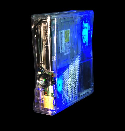 Xbox 360 Slim Crystal Clear GhostCase - CRYSTAL CLEAR