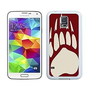 Customized Phone Case For Samsung S5 Montana Grizzlies 02 Cell Phone Cover Case for Samsung Galaxy S5 I9600 G900a G900v G900p G900t G900w White