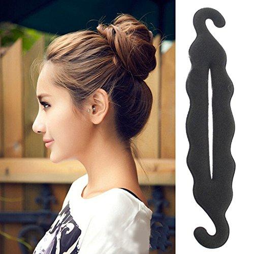 Hot Magic Foam Twist Sponge Hair Sponge Headwear Hairdisk Hair Device Bun Updo Headbands Hair Accessories Hair Braiding Tool river home