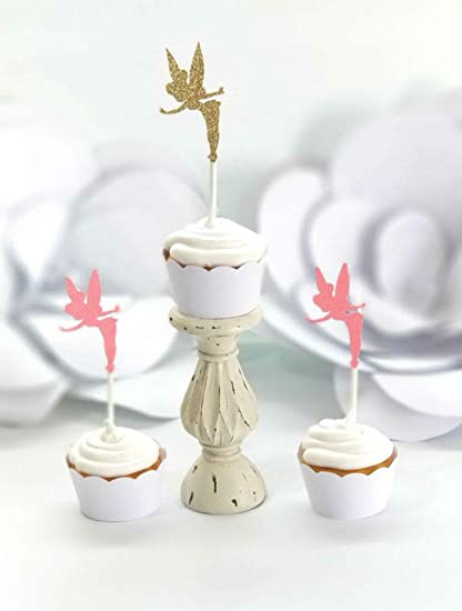 PK 2 TEA TIME CUPCAKES TOPPERS FOR CARDS AND CRAFTS