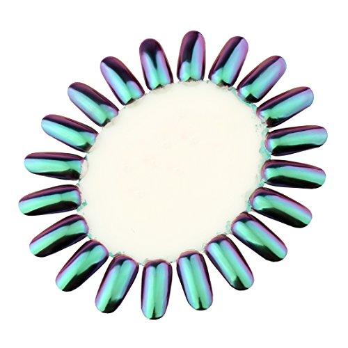 PrettyDiva Opal Chrome Nail Powder Top Grade Mirror Effect