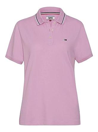 Et Jeans Polo Classique Rose FemmeVêtements Tommy 5RS3jqc4AL