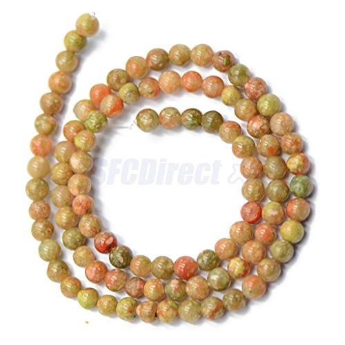 4mm Natural Autumn Jasper Stone Round Loose Beads Spacer Gemstone 15'' Strand 4mm