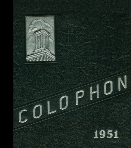 (Reprint) 1951 Yearbook: Wyomissing Area High School, Wyomissing, ()